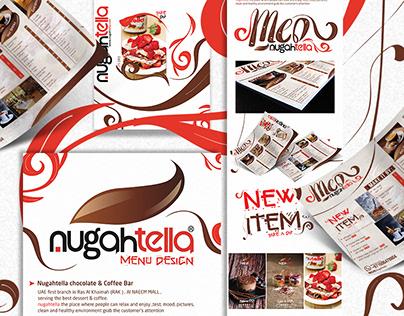 NugahTella Menu Design