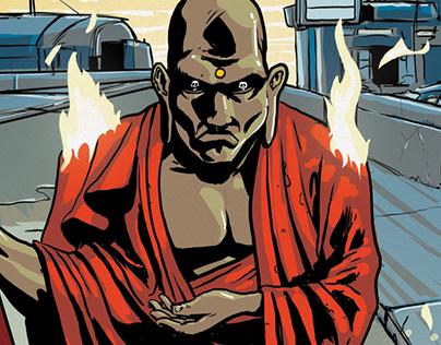 DEATH BUDDHA // ILLUSTRATION