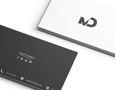 Personal BRAND - MD - Marco D'Agata Graphic Designer