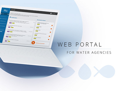 Web portal - website conception UX/UI