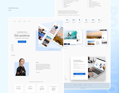 Personal portfolio web designer