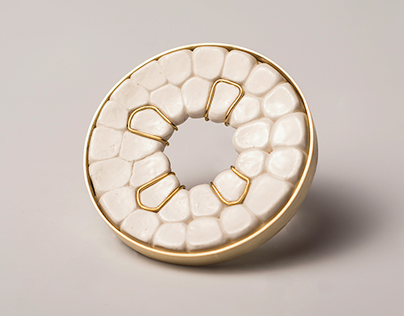 porcelain brooches I 2016