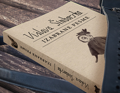 Book covers for Szymborska and Różewicz