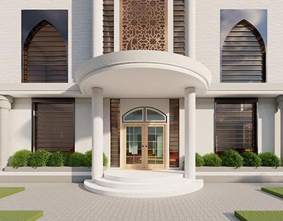 Luxurious Islamic Residence Building Design | G+2