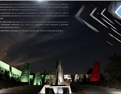 MEMORIAL 19 S, JUCHITÁN, MX.