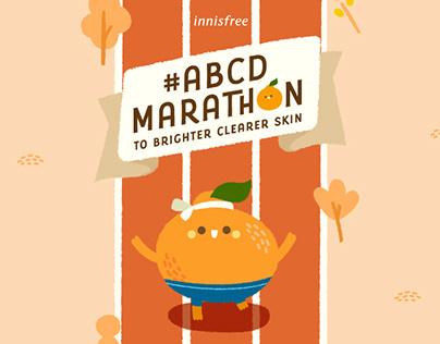 Innisfree #ABCDMarathon Campaign Microsite
