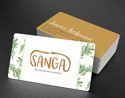 Sanga | Logo + Visual Identity