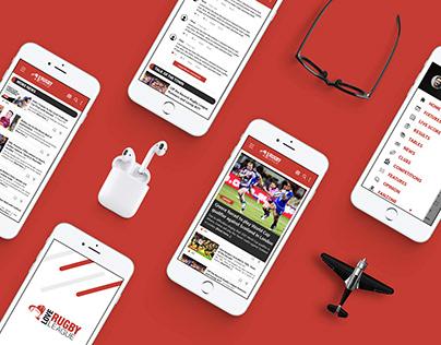 Love Rugby App Design