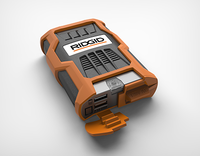 RIDGID 100w Power Inverter - Soft Case