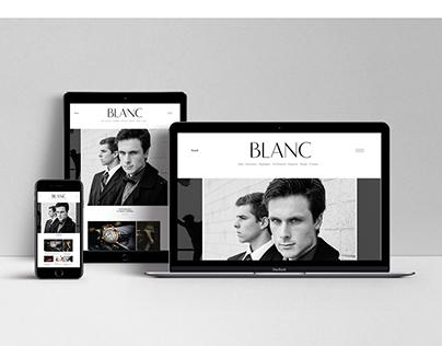 BLANC.