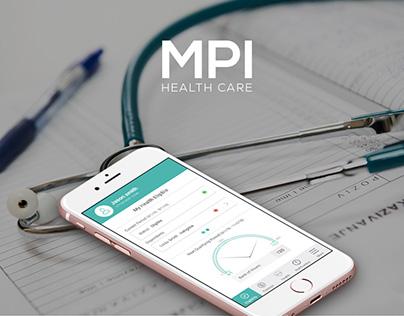 MPI - Health Care Mobile App Design