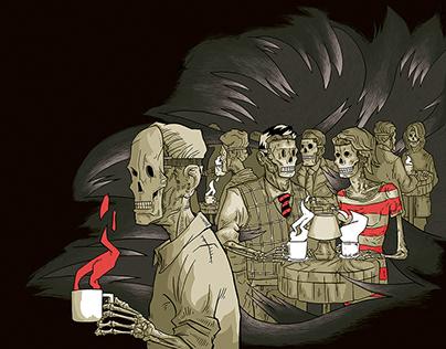 Death Café (editorials)