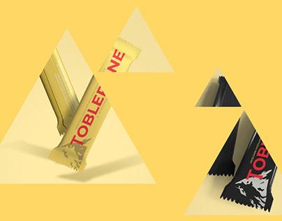 Toblerone Logo & Package Redesign
