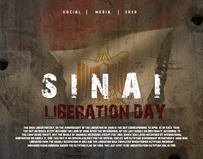 Social Media - Sinai Liberation Day