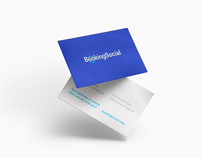Booking Social / Logo Redesign