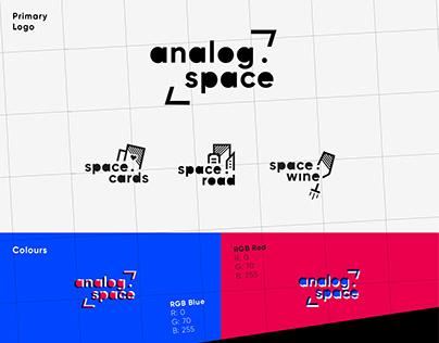 Branding - Analog.Space /// VIENNA