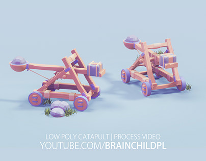 Low Poly EXPLORATION - 3d Low Poly Game Art