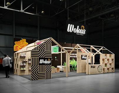 Exhibition stand - Wokas Gardenia 2020