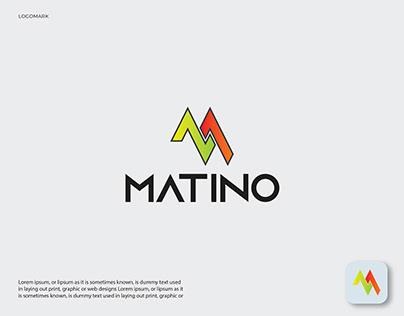 M Letter Logo, Modern M