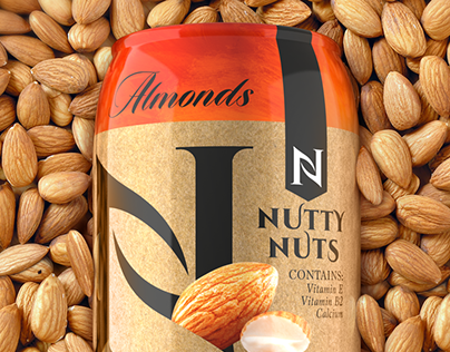 Nutty Nuts. Packaging Design