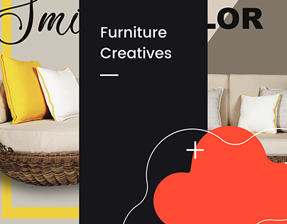 furniture creatives for social media