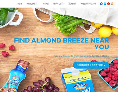 FOOD: Almond Breeze