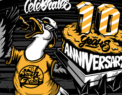 South Front 10 years anniversary / t-shirt