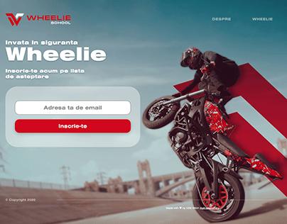 wheelieschool.ro - Presentation site (Romania 2020)