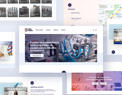 Diseño Web AbadFarma