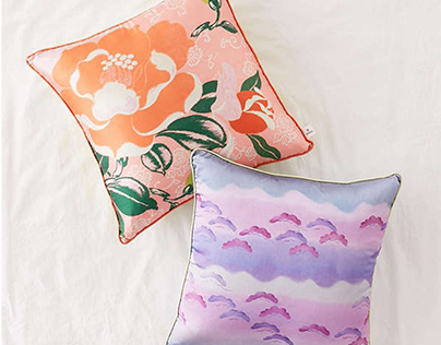 Pillow design for Urban Outfitters Home