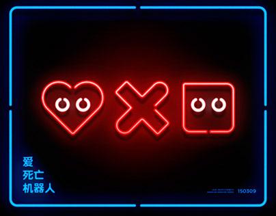 Neon Love, Death & Robots