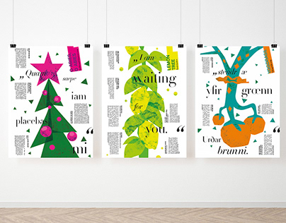 tree in music poster|brochure