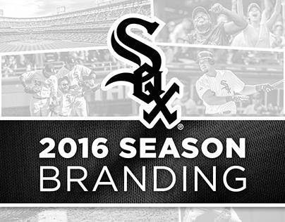 Chicago White Sox 2016 Season Branding