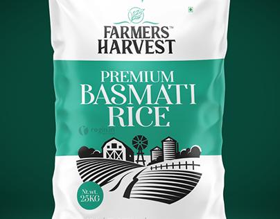 Farmers Harvest Rice bag