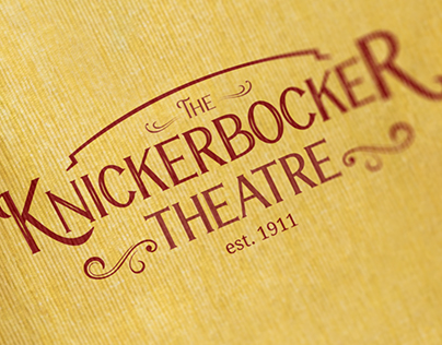 Knickerbocker Theatre Logo and Brand