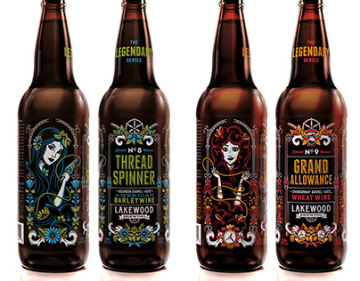 Legendary Series Beer Labels