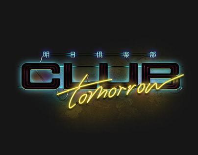 Club Tomorrow|UI / UX