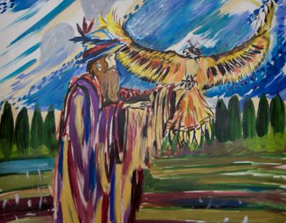 Alchemist and Falcon