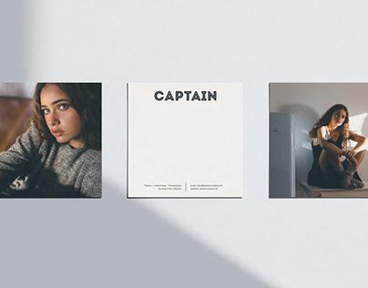 CAPTAIN CREATIVE - BRANDING & LOGO