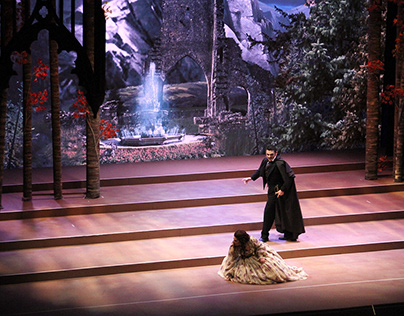 Digital Scenography - Ópera Lucia Di Lammermoor