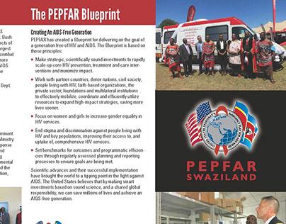 PEPFAR Swaziland 4C brochure