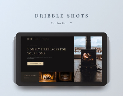 Dribbble shots collection 2