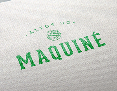 Identidade Visual - Altos do Maquiné
