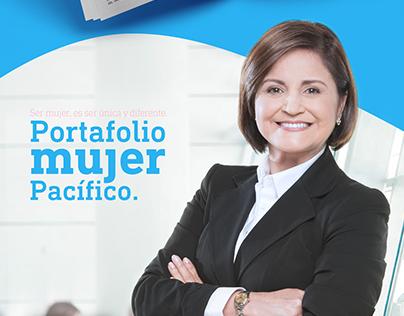 """Portafolio Mujer Pacífico, """"Banco del Pacífico"""""""