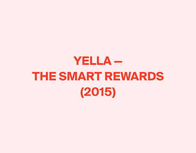 Yella - The Smart Rewards