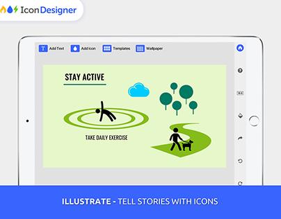 Icon Designer iOS App