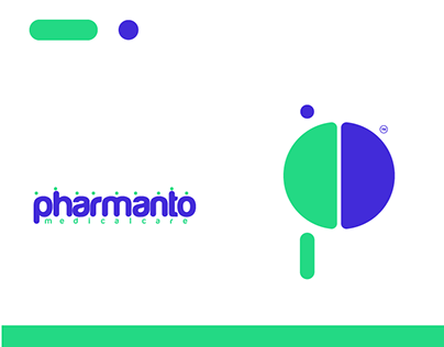 brand identity for pharmanto medical care