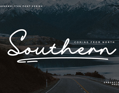 Free Southern Handwritten Font