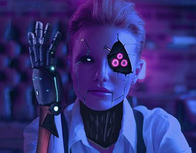 Montaje Cyberpunk