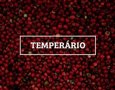 Temperário — catálogo de temperos